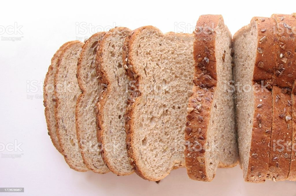 Wholesome Whole-grain Bread royalty-free stock photo