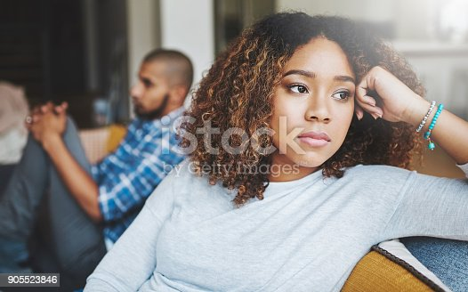 istock Who's going to break the tension? 905523846