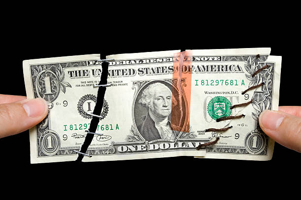 who's handling your money? - money black background stock photos and pictures