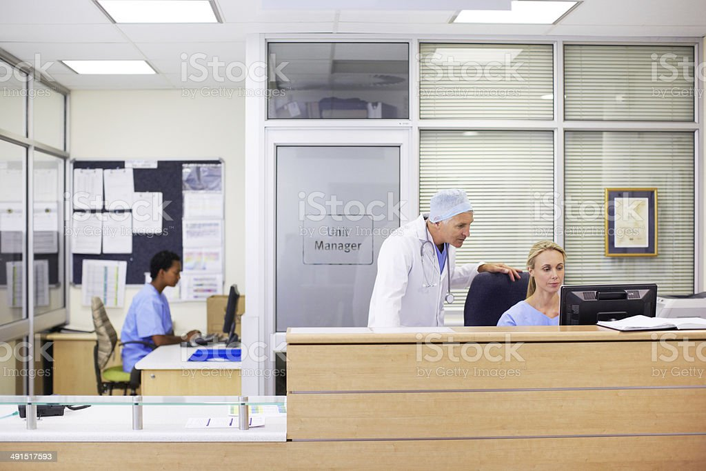 Who's my next patient? stock photo