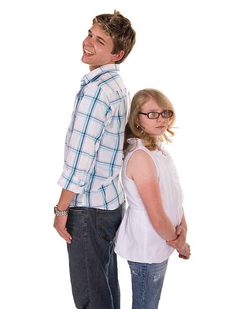Who's Taller stock photo
