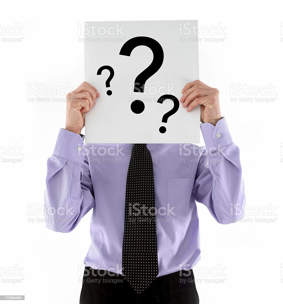 Who's That Man? royalty-free stock photo