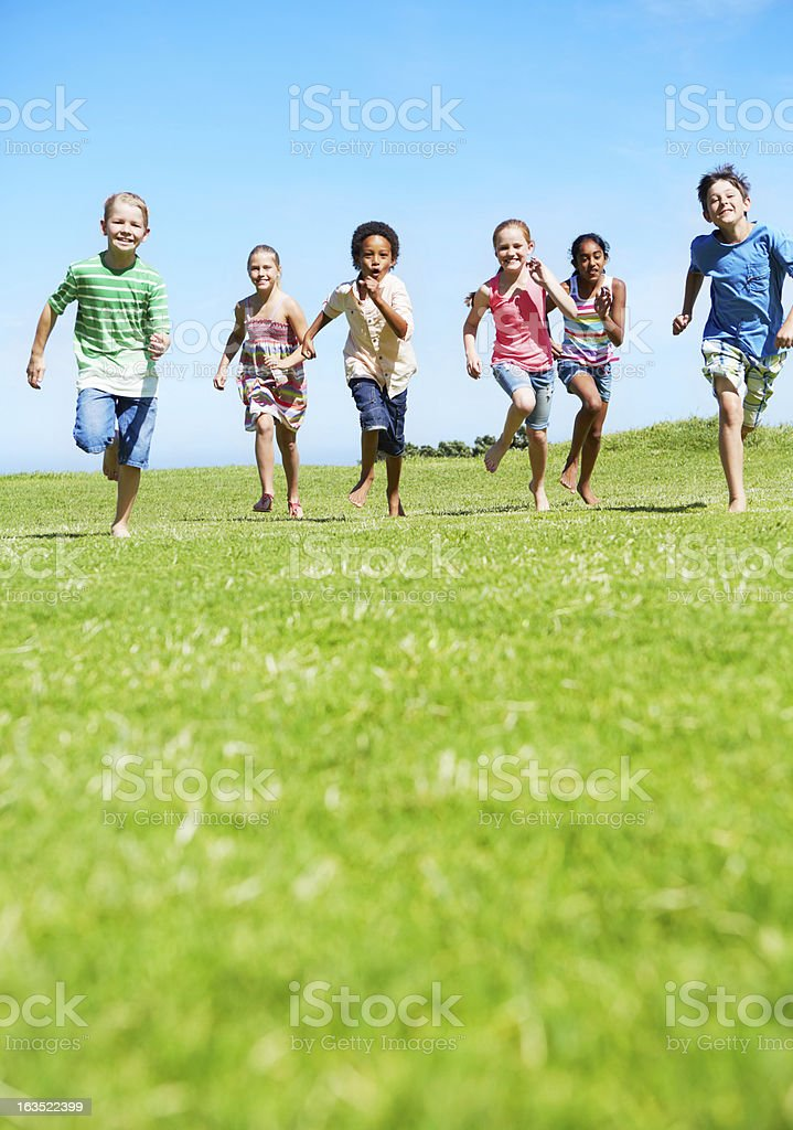 Who's the fastest? royalty-free stock photo
