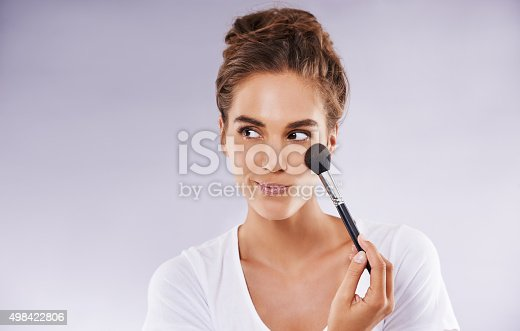 istock Why bother when you're beautiful already 498422806