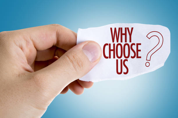 Why Choose Us? stock photo