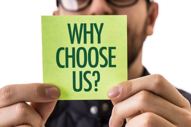 why choose us? - testimonial stock photos and pictures