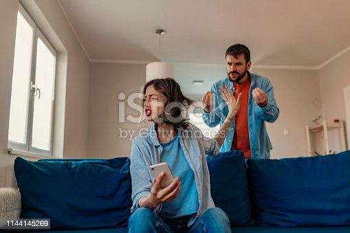 993706062 istock photo Why does everything have to turn into an argument? 1144145269
