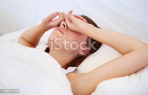 istock Why is it morning already? 179471179