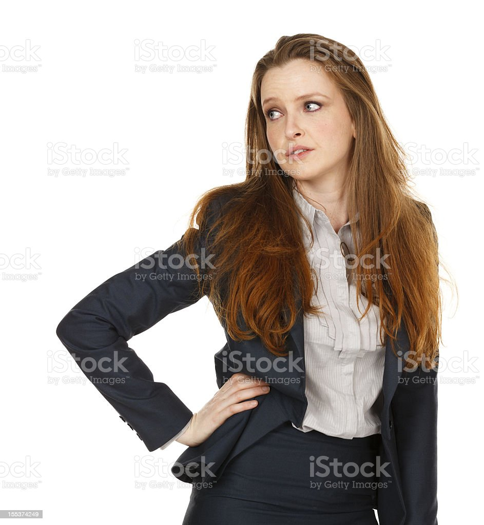 Why Me? royalty-free stock photo
