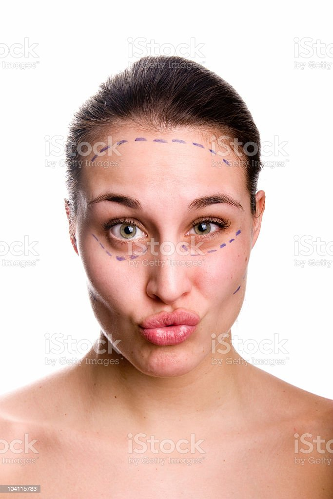 Why Plastic Surgery royalty-free stock photo