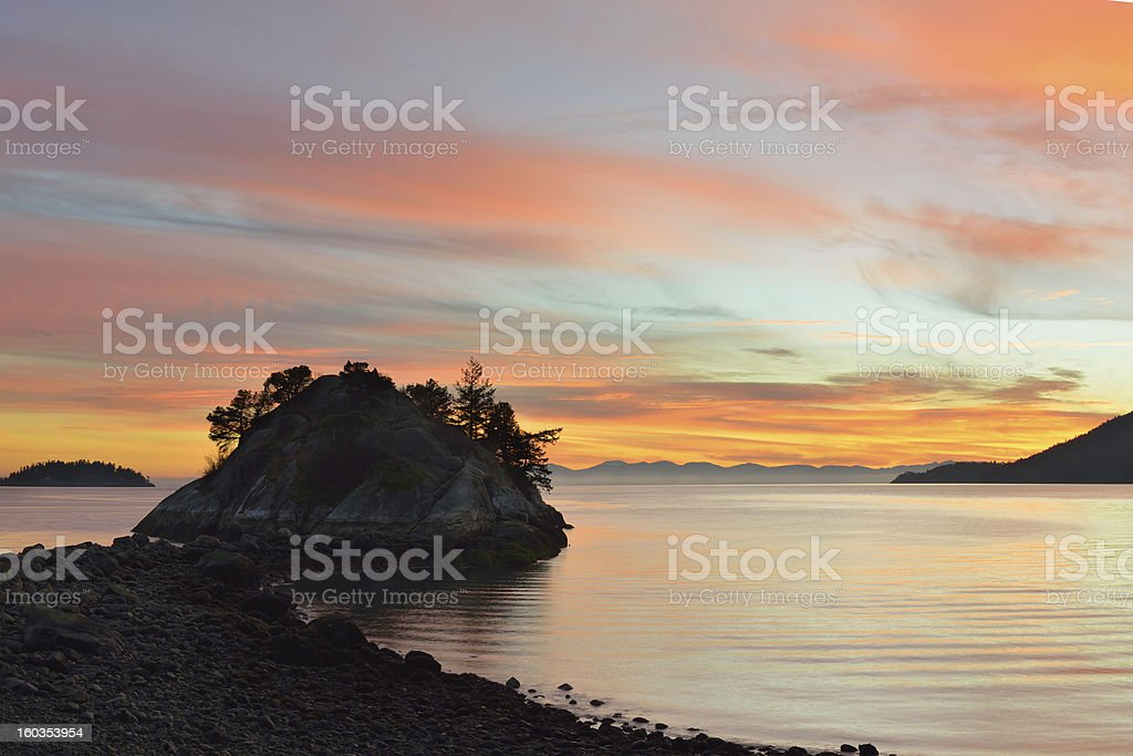 whytecliff park in west vancouver royalty-free stock photo