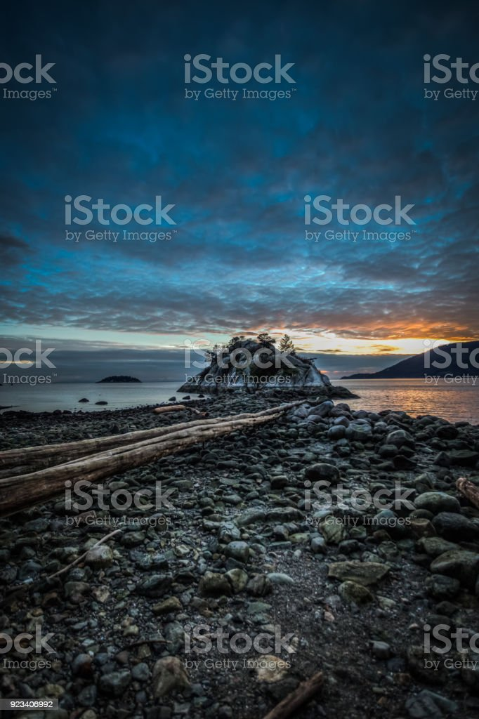 Whytecliff Park, Vancouver stock photo