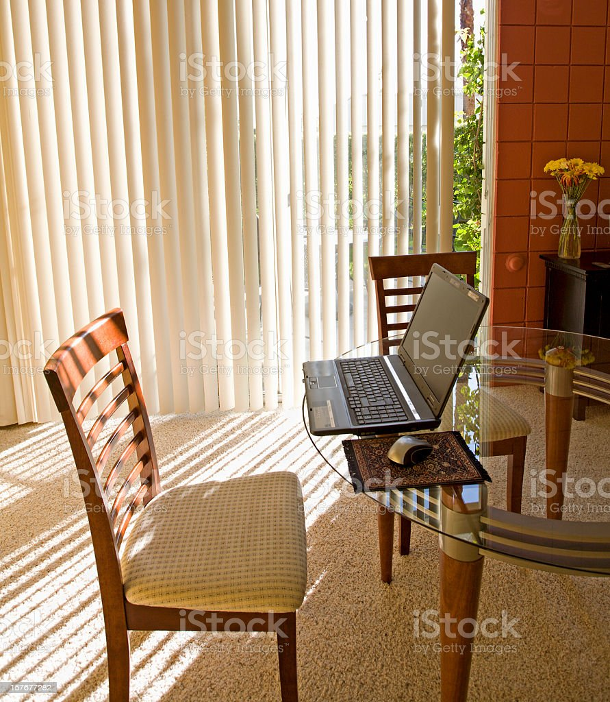 Wi Fi In Home Office royalty-free stock photo