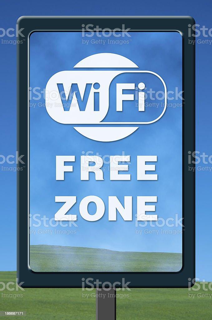 Wi Fi royalty-free stock photo
