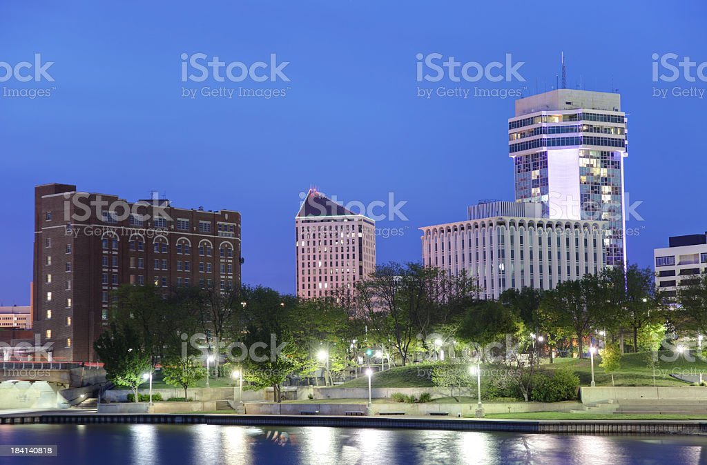 Wichita Kansas royalty-free stock photo