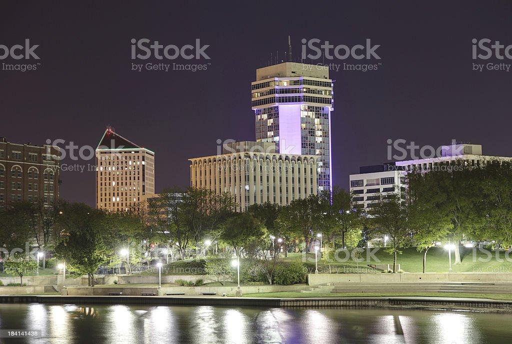 Wichita, Kansas royalty-free stock photo