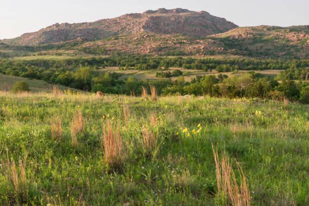 Wichita Mountains stock photo