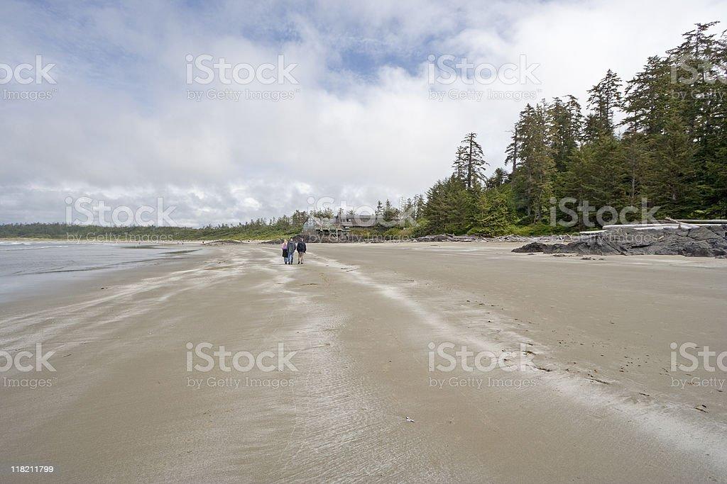 Wickaninnish Bay stock photo