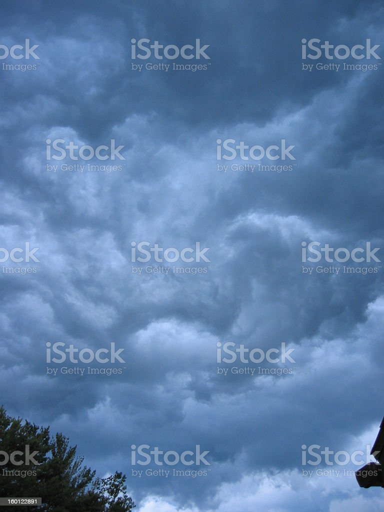 Wicked Clouds royalty-free stock photo
