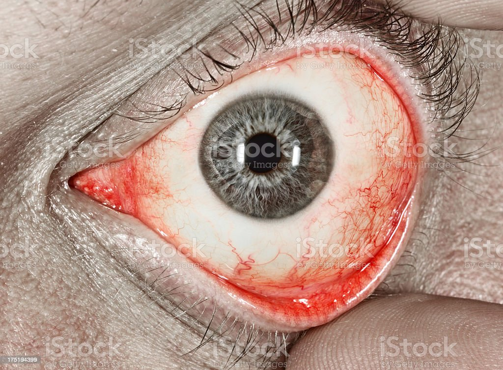 Wicked eye stock photo