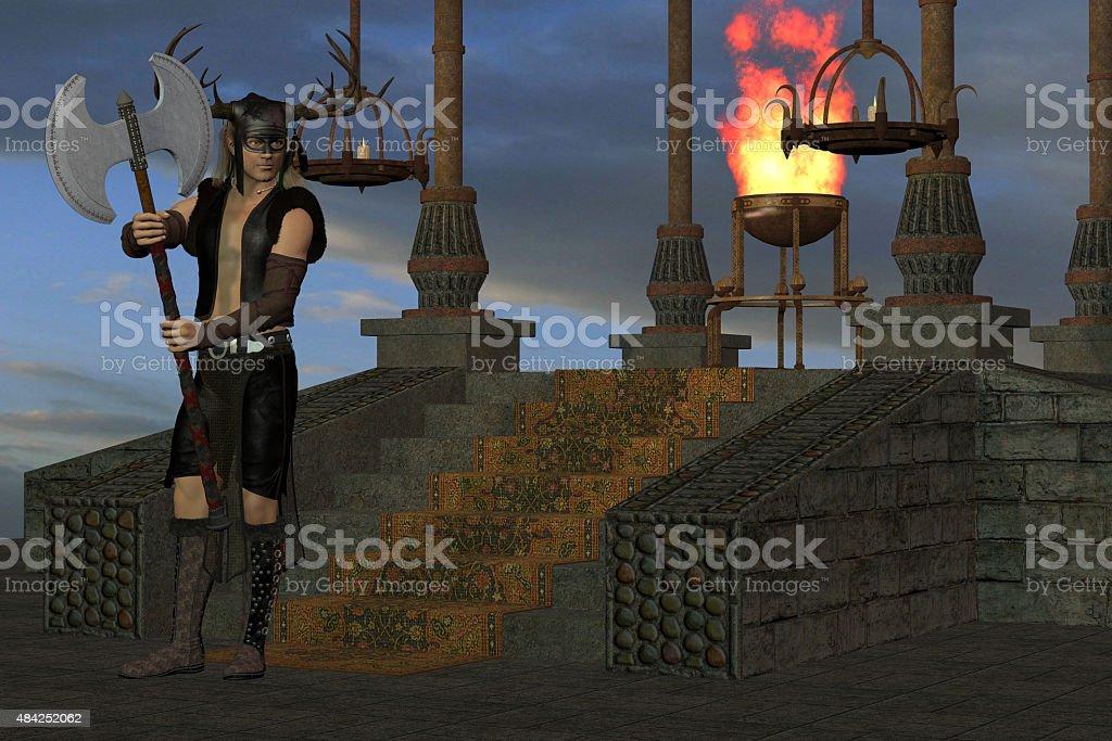 Wicked Shrine stock photo