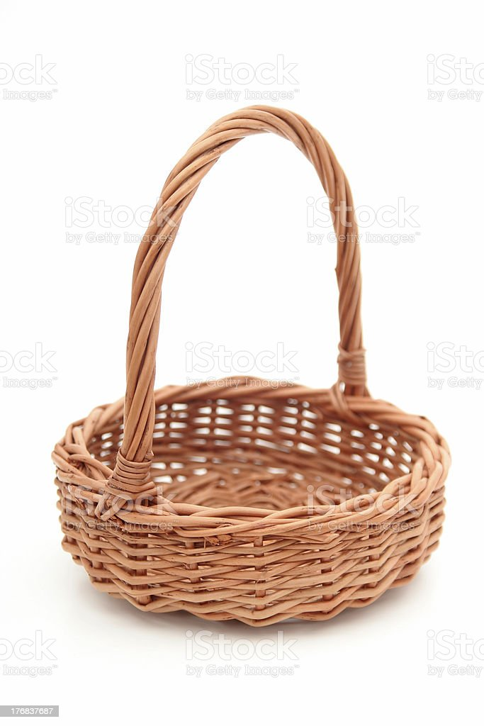 Wicker Basket royalty-free stock photo