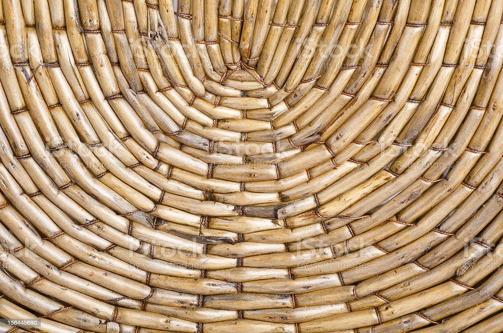 Wicker Basket Textures royalty-free stock photo
