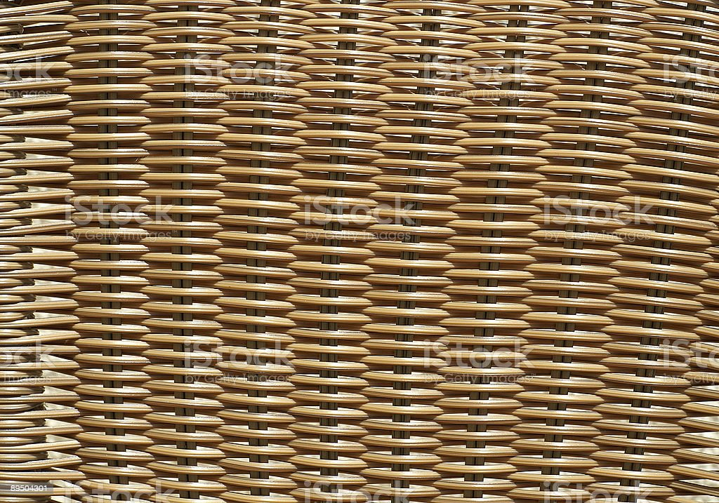 Wicker chair texture royalty-free stock photo
