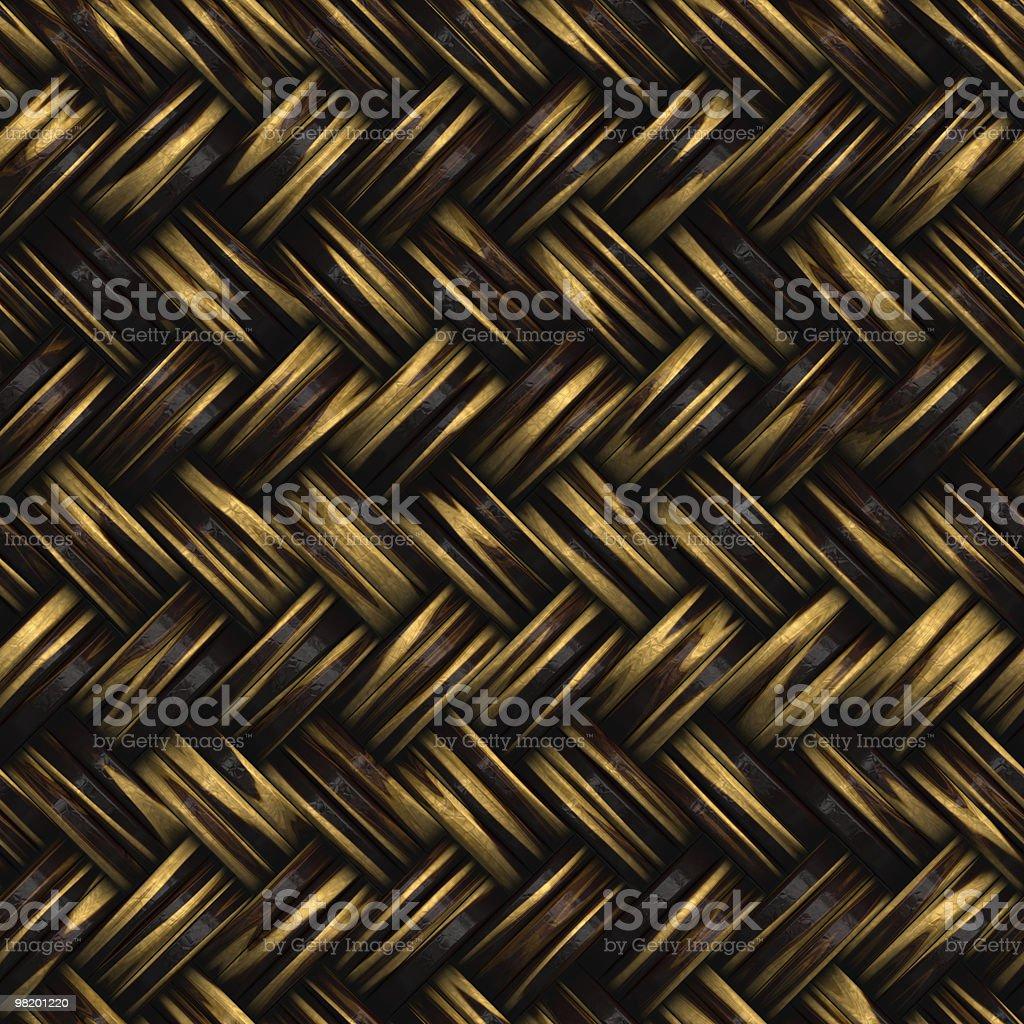 Wicker Pattern royalty-free stock photo