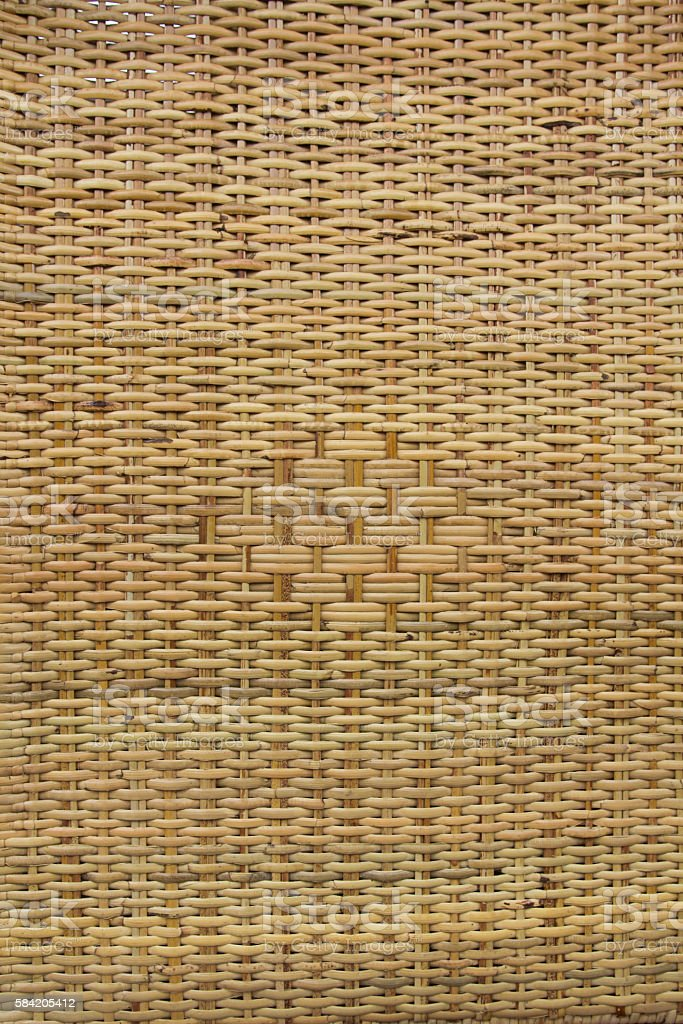 wickerwork stock photo