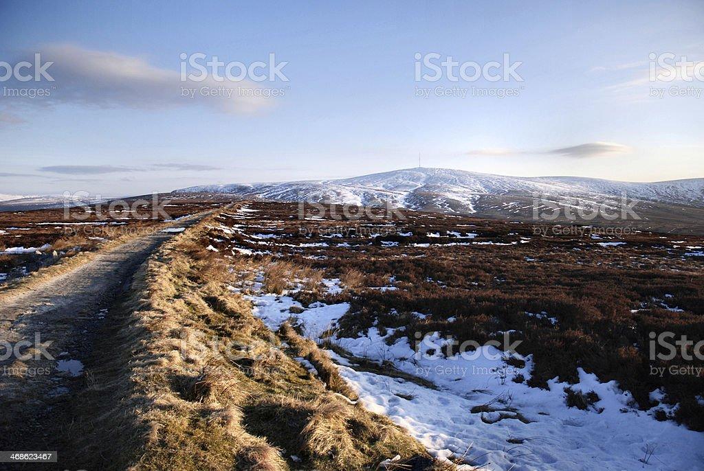 Wicklow Landscape Ireland stock photo