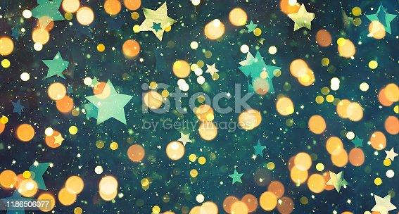 istock Wide Angle Beautiful Celebration background 1186506077