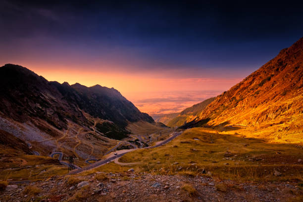 광각 fagaras 산맥, 루마니아 - 카르파티아 산맥 뉴스 사진 이미지
