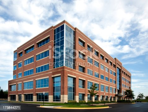 New office building exterior