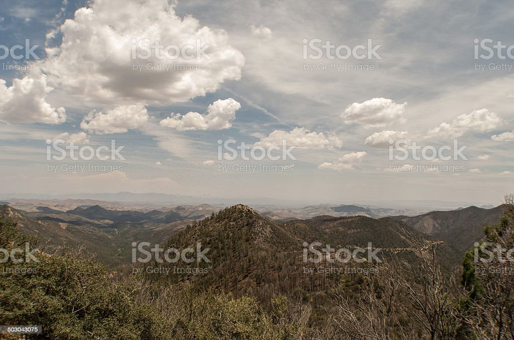 Wide Angle View From Emory Pass royalty-free stock photo