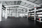 istock Wide Angle View of Modern Open Plan Gym 1282647806