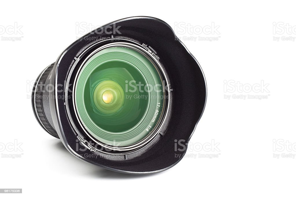 wide angle zoom royalty-free stock photo