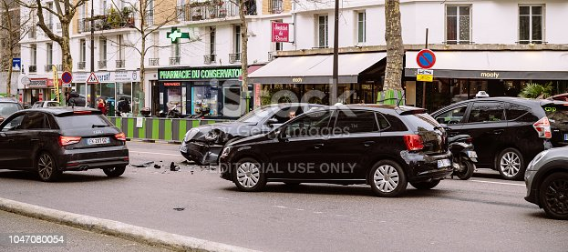 684793794istockphoto Wide image of Paris accident 1047080054