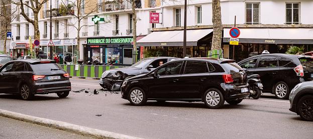 684793794 istock photo Wide image of Paris accident 1047080054