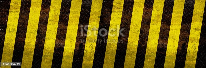 istock Wide industrial warning background 1141604719