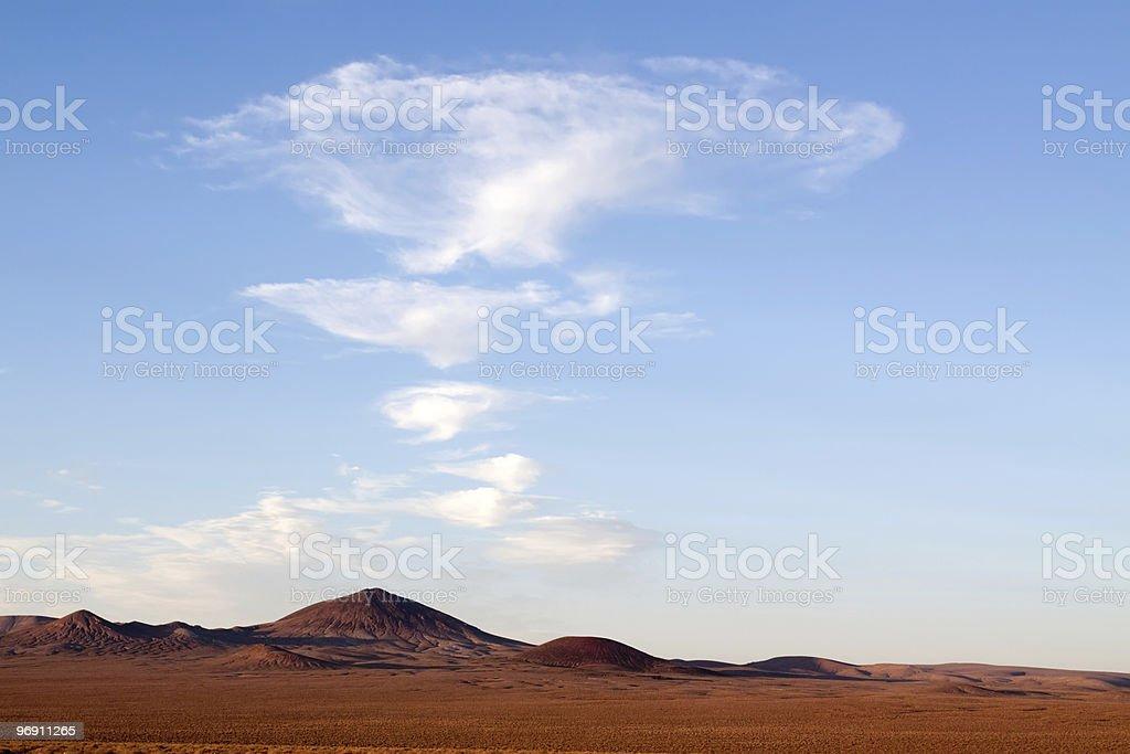 Wide open Nevada desert royalty-free stock photo