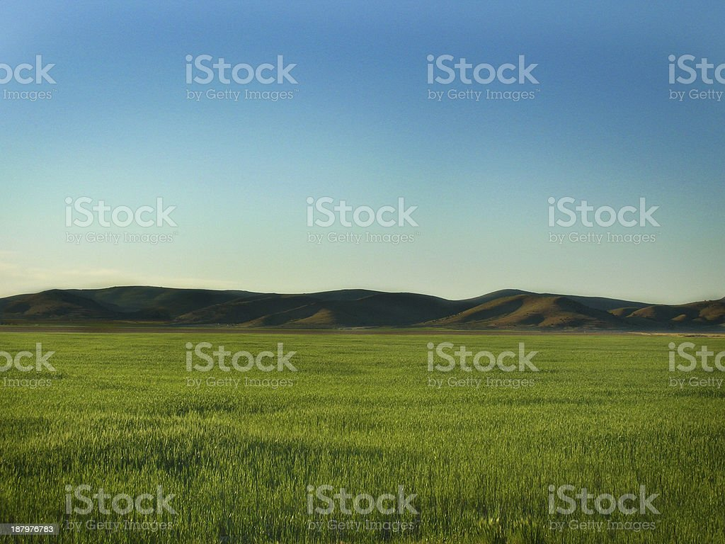 Wide Open Spaces stock photo