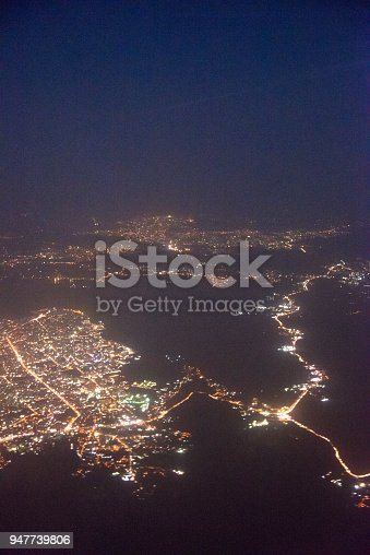 947740086 istock photo Wide panoramic view of Mumbai financial capital of India 947739806