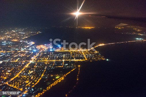 947740086 istock photo Wide panoramic view of Mumbai financial capital of India 947740014