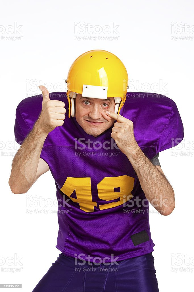 Wide Receiver royalty-free stock photo