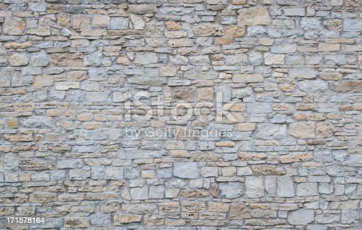 Background shot of an old limestone wall.