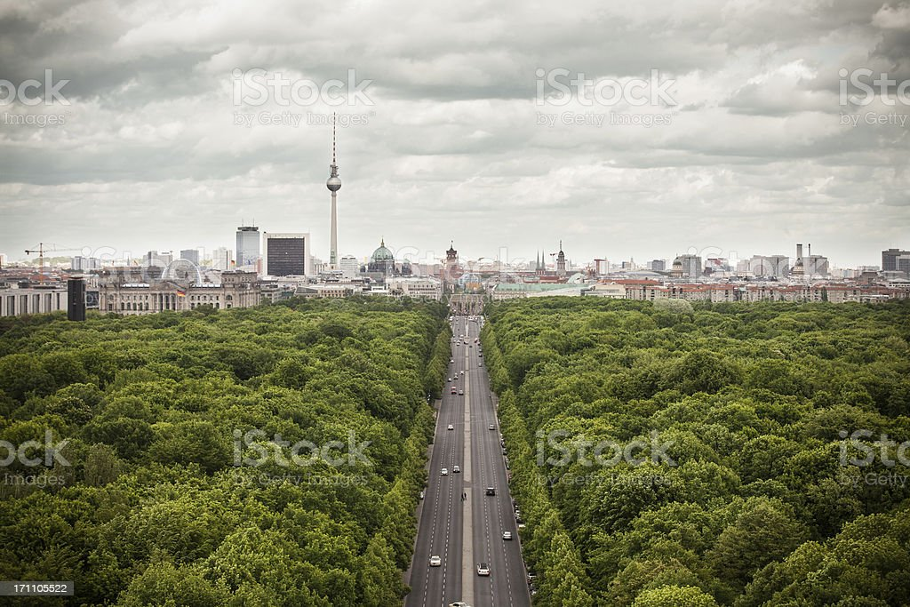 Berlin skyline – Foto