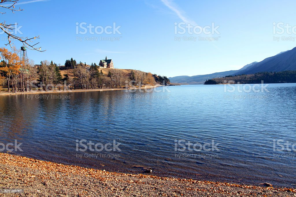 Wide Water stock photo