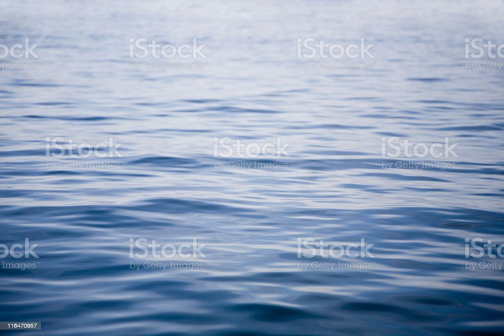 Wide Water Surface stock photo