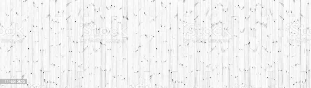 Wide White Knotty Wood Texture Whitewashed Wooden Board